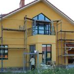 Применение тонировки красок для фасада в Коростене